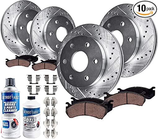 OE Replacement 2007 Buick Terraza Rotors Ceramic Pads F+R