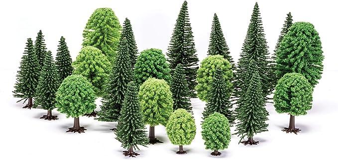 """JTT SCENERY 92037 EVERGREEN TREE HO-SCALE 3/"""" 5/"""" 12//PK  JTT92037"""