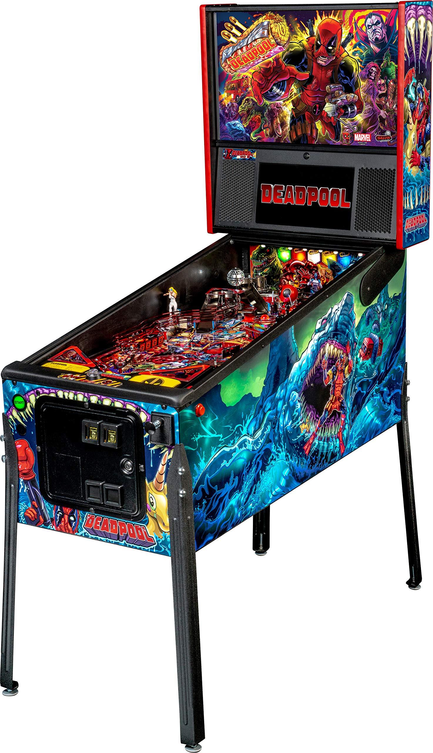 Stern Pinball Deadpool Arcade Pinball Machine, Premium Edition by Stern Pinball