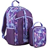 Fuel Water Resistant Durable Backpack with Insulated Lunch Bag, 2 Piece Set