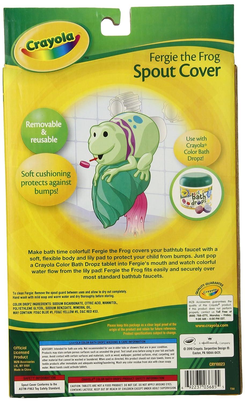 Amazon.com : Crayola Fergie Spout Guard Skin Care : Bathing ...