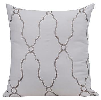 Amazon Gracious Living Vintage LinenCotton Embroidered Pillow Impressive Gracious Home Decorative Pillows
