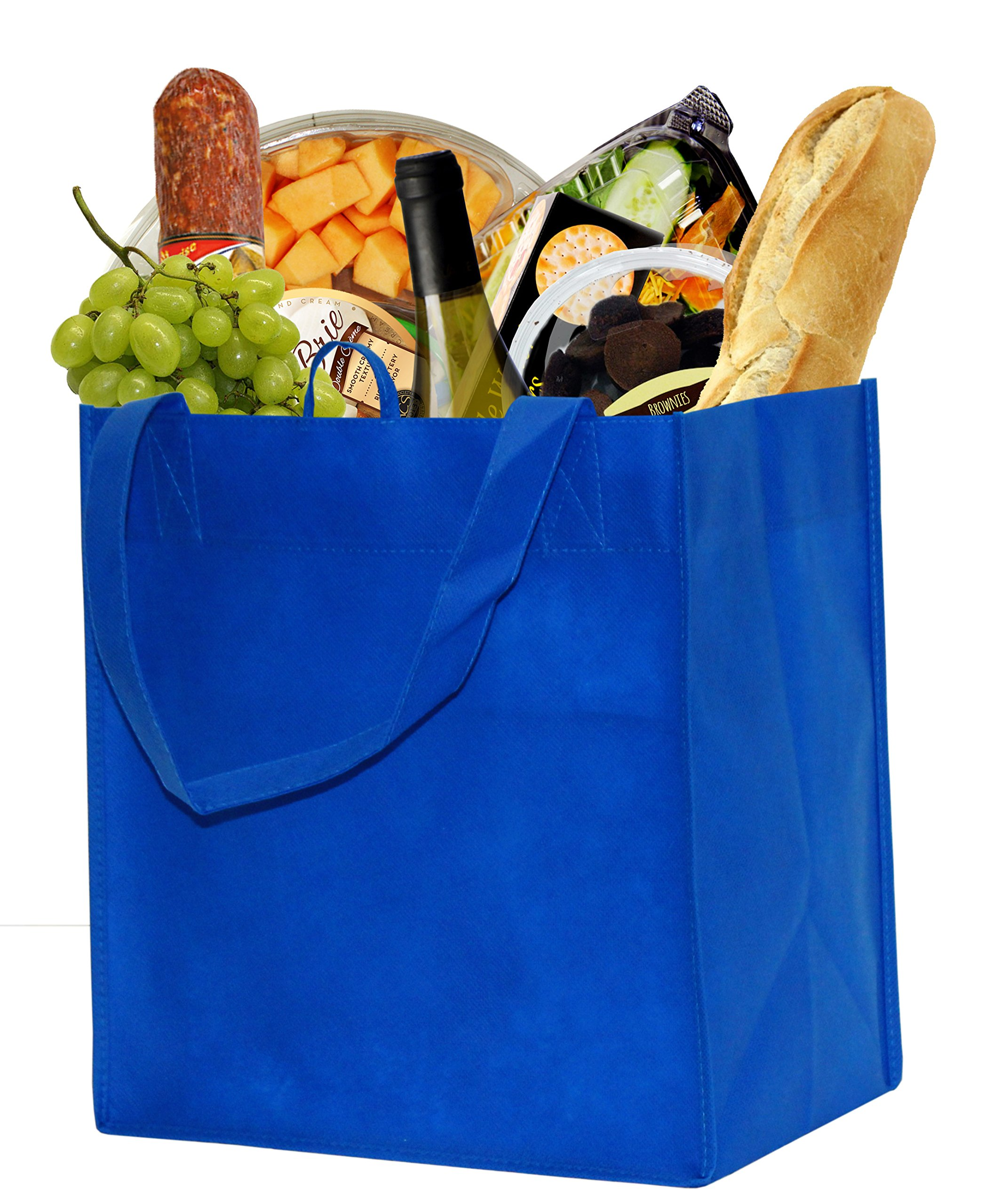 Earthwise Reusable Grocery Bags Shopping Totes Eco Friendly (10 Piece Pack) by Earthwise (Image #4)