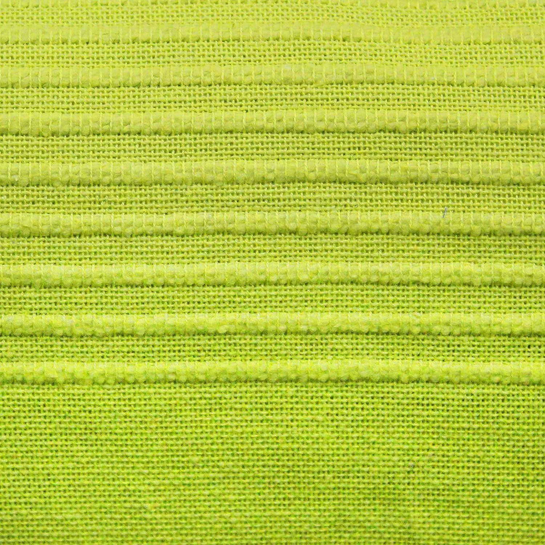 Nuances Du Monde 3006704 Algod/ón Tejido 220 X 240 Cm Colcha De Sofa Verde Lana