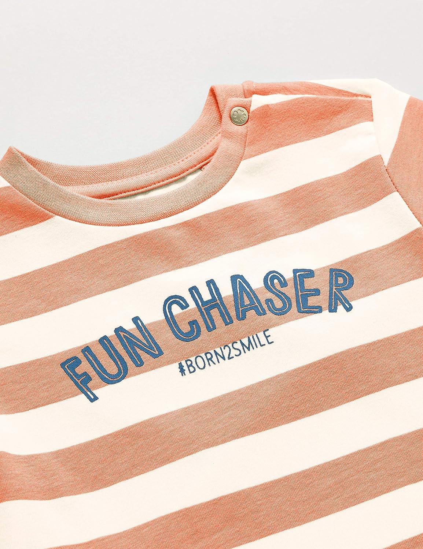 Noppies Baby-Jungen B Regular Ss Marshall STR T-Shirt