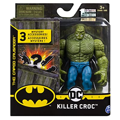 DC Batman 2020 Killer Croc 4-inch Action Figure by Spin Master: Toys & Games