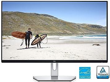 Dell S2719H 68,58 cm (27 Zoll) Monitor (HDMI, LED, 5 Reaktionszeit) silber/schwarz