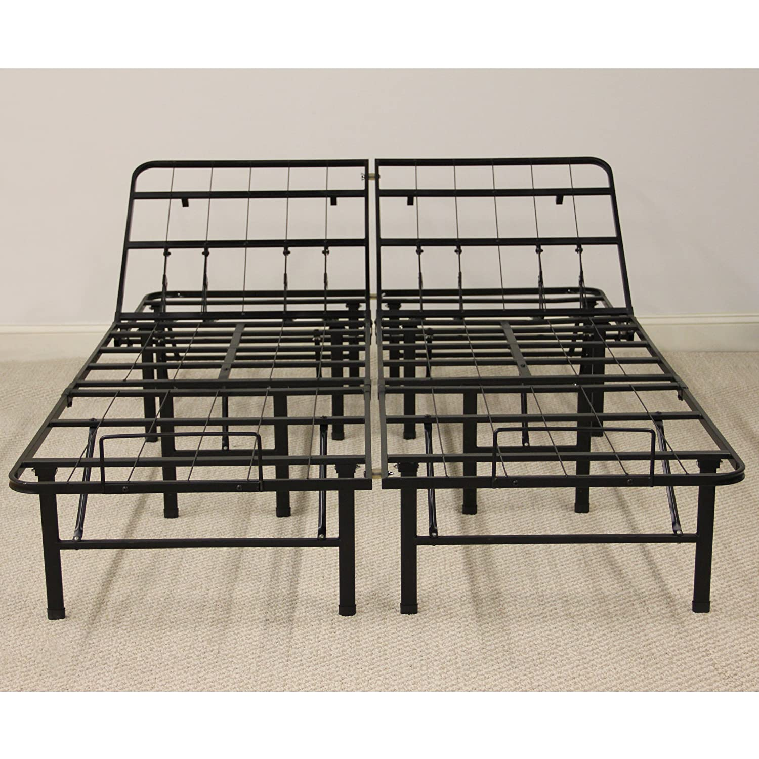 Metal Bedroom Bench Amazoncom Classic Brands Adjustable Heavy Duty Metal Bed Frame