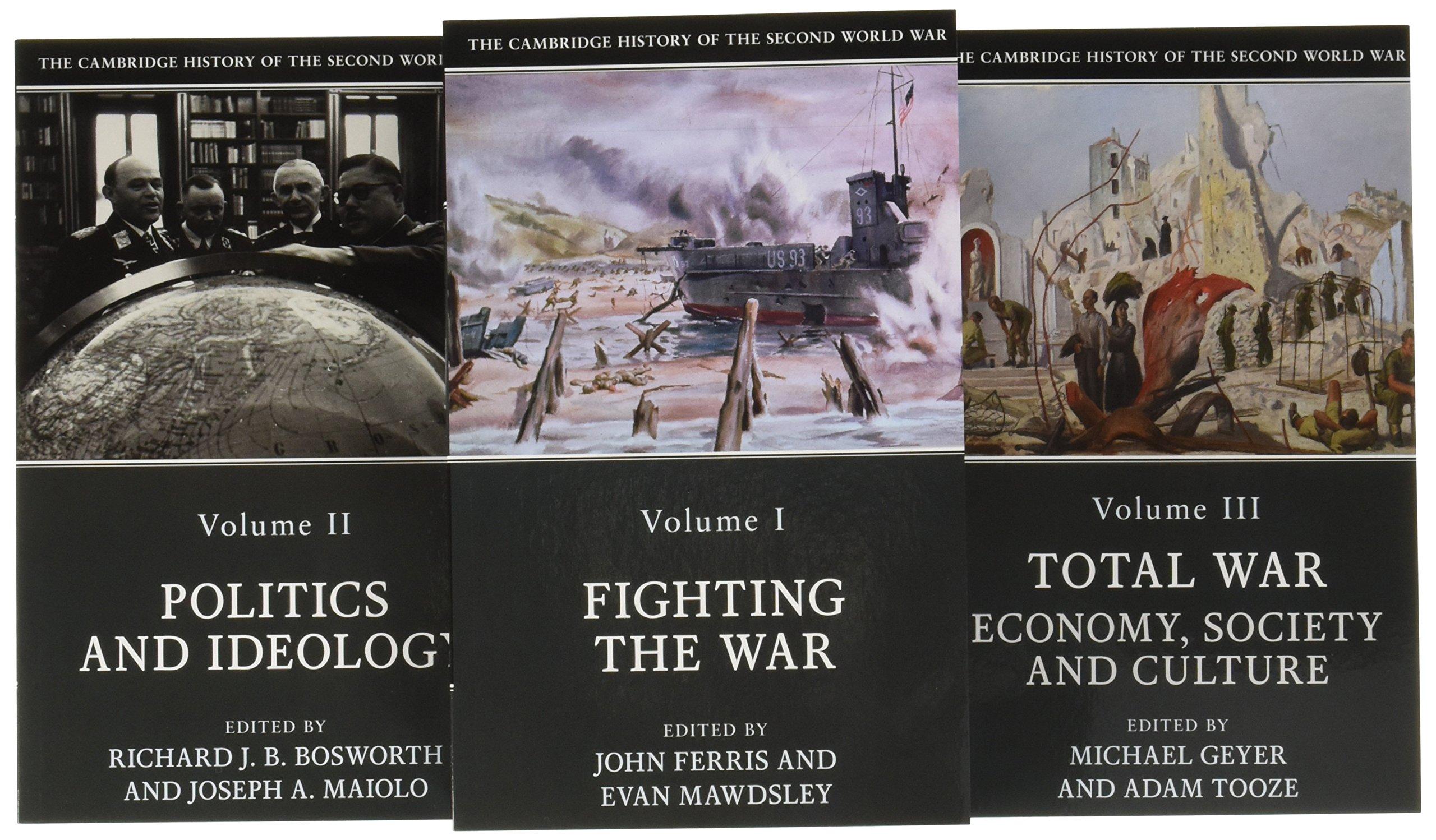 The Cambridge History of the Second World War 3 Volume Paperback Set pdf epub
