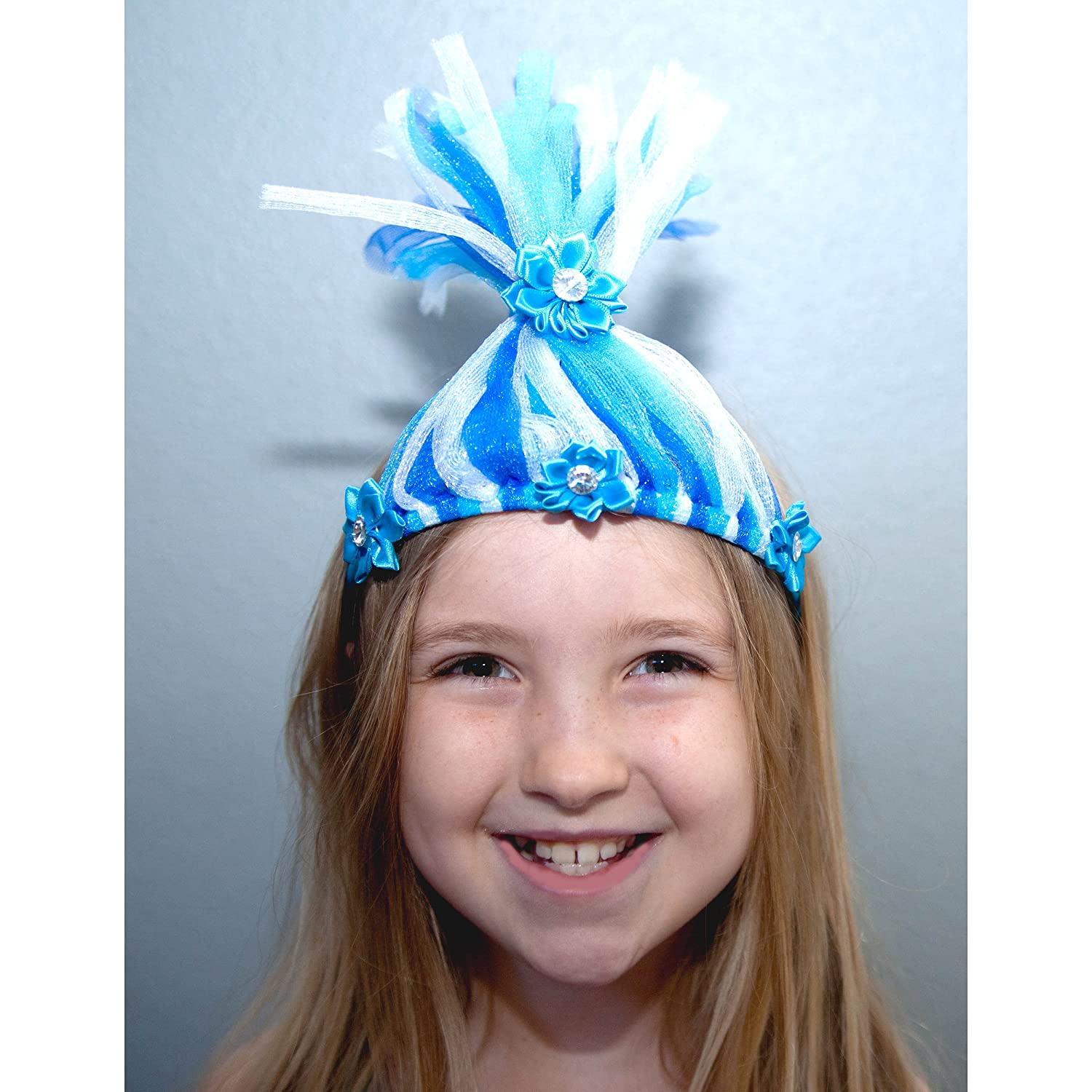 Lilly and the Bee Novelties Totally Awesome Funky Troll Headband Party Pack of 6