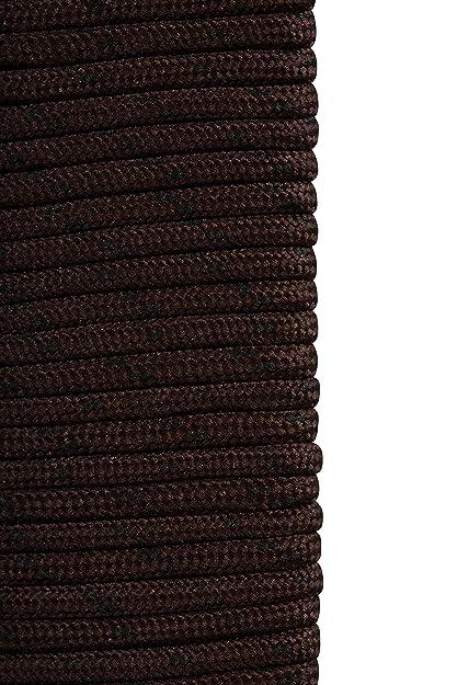 Mountain Warehouse El cargador redondo ata - los cordones del zapato del 150cm, caben la mayoría de los ojales del cargador, cordones redondos del amaestrador del dise?o Marrón Talla única