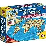 Liscianigiochi 43172 - Piccolo Genio Puzzle Costumi e feste del mondo