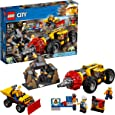 LEGO City Mining Heavy Driller 60186 Building Kit (294 Piece)