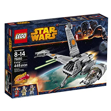 Amazon.com: LEGO Star Wars 75050 B-Wing Building Toy: Toys & Games