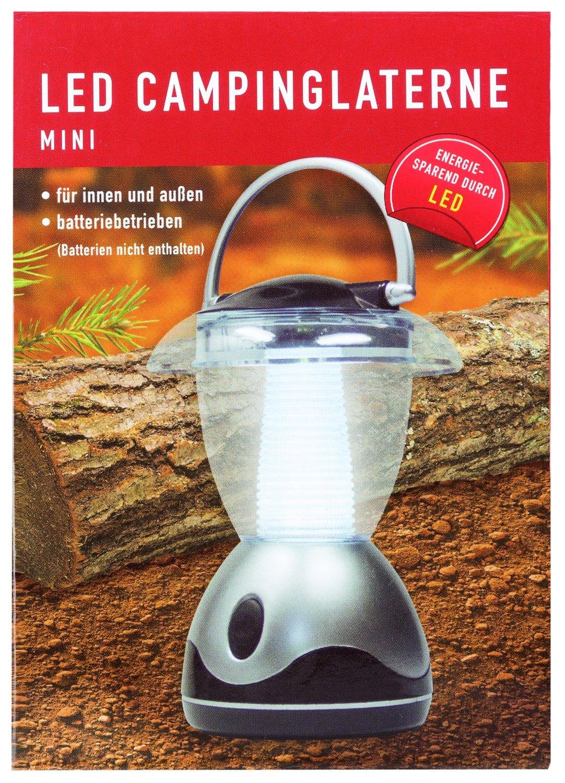 14.5 cm Approx Idena Classic Camping Lantern Modern Mini