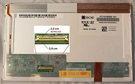 Desconocido Pantalla para portatil Toshiba Netbook NB200 10.1 LED Brillo