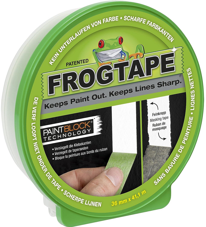 Kip Abklebeband Frogtape gr/ün 24 mm x 41 Meter