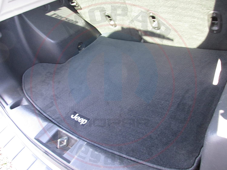 Jeep Genuine Accessories 82210795AB Premium Carpet Cargo Mat