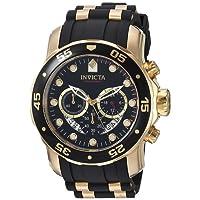 Invicta Pro Diver Men's Chronograph Quartz Watch with Polyurethane Strap – 6981
