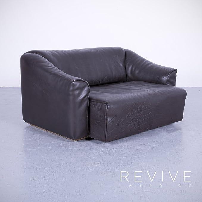 de Sede DS 47 Leder Sofa Braun Zweisitzer Couch Funktion ...