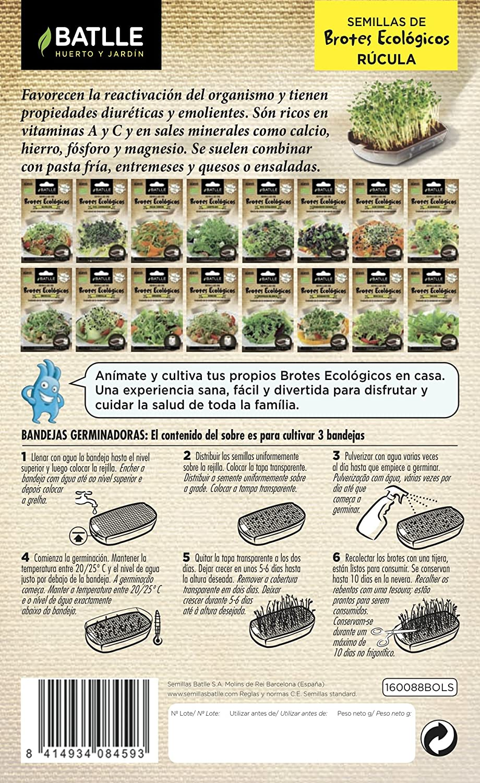 Semillas Batlle/Eco-Friendly Shoots Alfalfa
