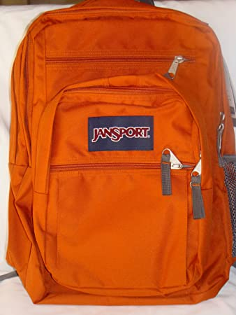 Amazon.com: Jansport Big Student Backpack Hamster Brown (Orange ...