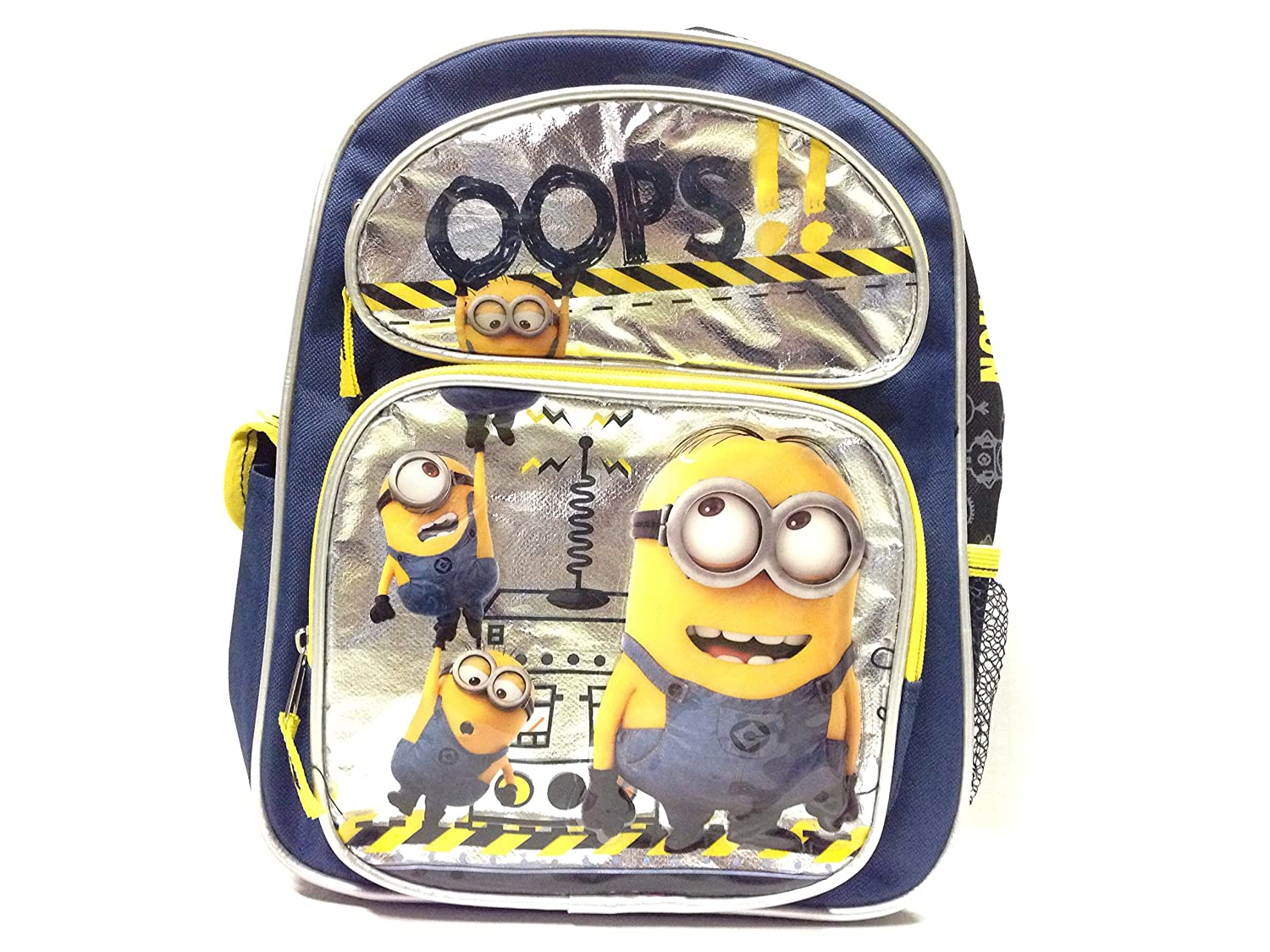"Despicable Me Minions Oops!!! 12"" Toddler Backpack(5548) delicate"