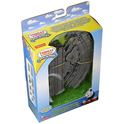 Fisher-Price Thomas & Friends Take-n-Play, Straight and Curved Track Pack: Toys & Games
