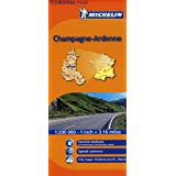 Michelin Map France: Champagne Ardenne 515 (Maps/Regional (Michelin)) (English and French Edition)