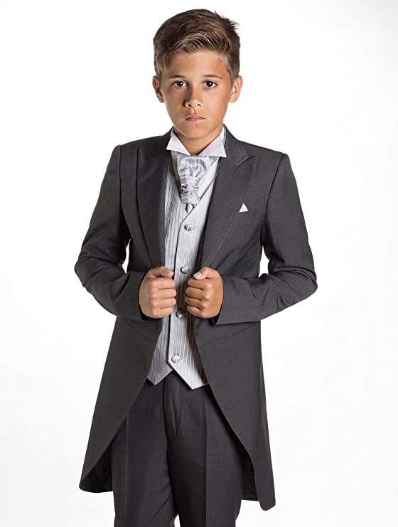 Paisley of London - Traje - para niño Gris Plata 6 años ...