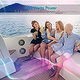 6.5 Inch Bluetooth Marine Speakers - 2-way IP-X4
