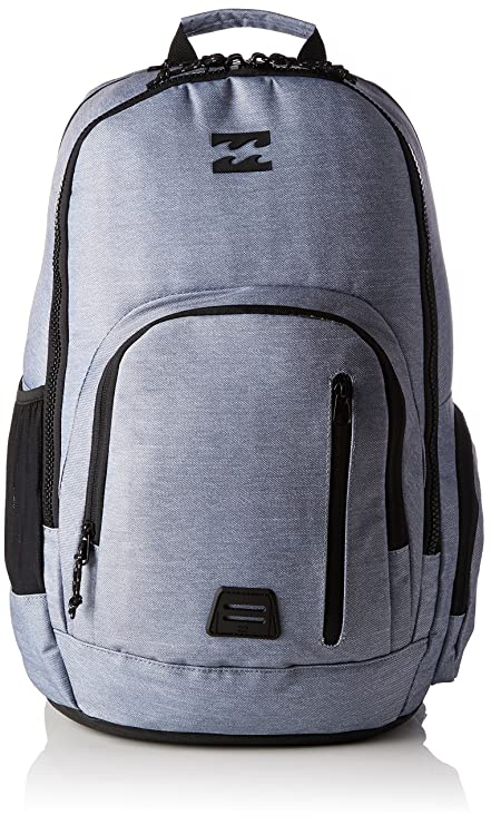 BILLABONG Command, Mochila para Hombre, Gris (Grey Heather), 25x31x52 cm (