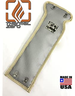 TZ1155-G MADE IN USA Thermal Zero 2500°F Wrap around Turbo Blanket -