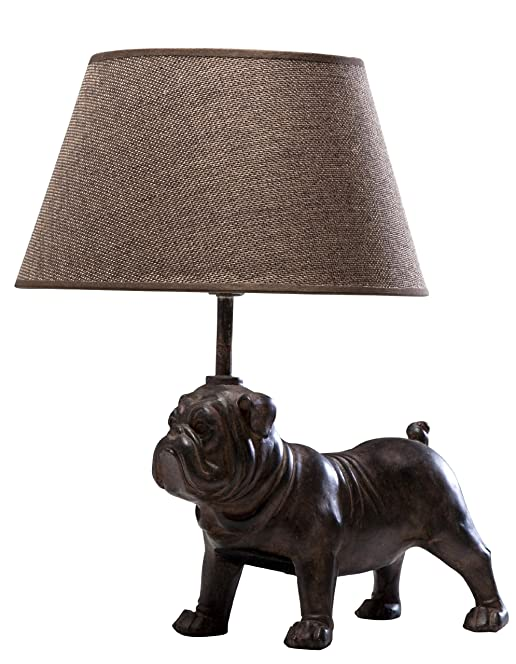 Pug Table Lamp: Amazon.co.uk: Kitchen & Home