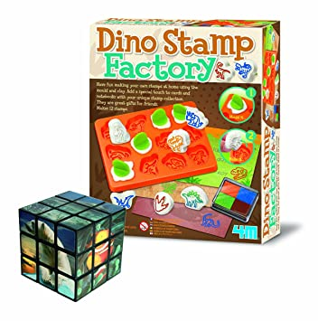Amazon best selling make your own dinosaur stamp factory arts best selling make your own dinosaur stamp factory arts crafts brain teasing set negle Choice Image