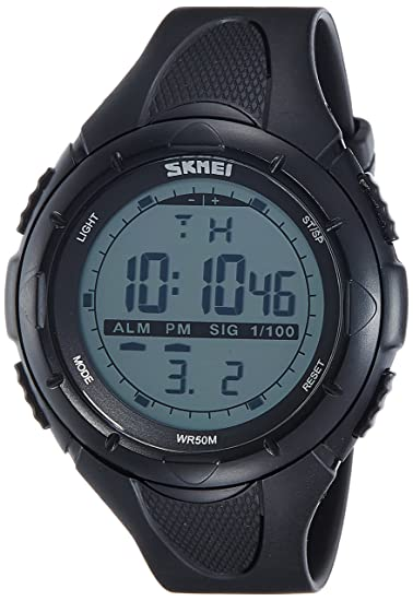 Skmei - Reloj analógico digital para hombre, esfera verde: Amazon.es: Relojes