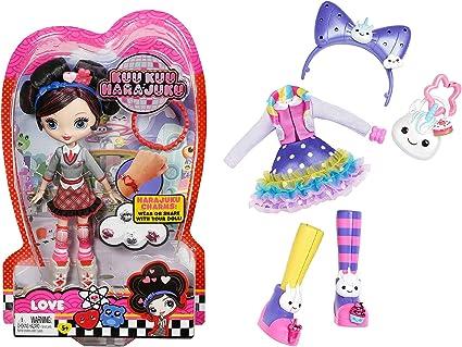 Kuu Kuu Hara Juku Muñeca De Amor Y Rainbow Unicorn Juego De Moda Toys Games