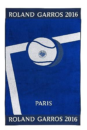 Roland Garros Drap de plage Bleu: Amazon.fr: Sports et Loisirs