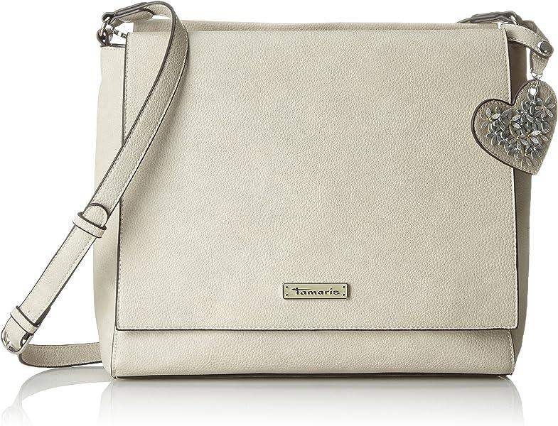 TAMARIS Damen Tasche Milla Handbag Light grey