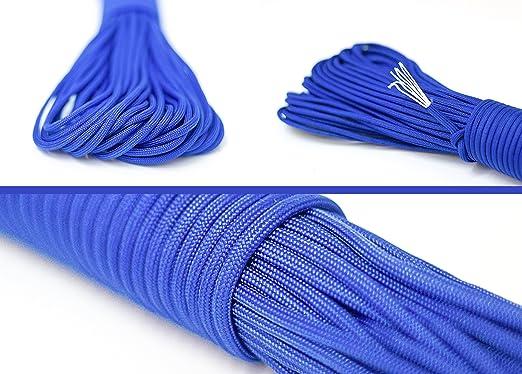 35 opinioni per Paracord di sopravvivenza della corda corda fatta di un forte cordone paracadute