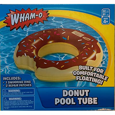 Wham-O Splash Donut Pool Float 8.1 x 2.2 x 7.5 inches Assorted Colors 1 pc: Toys & Games