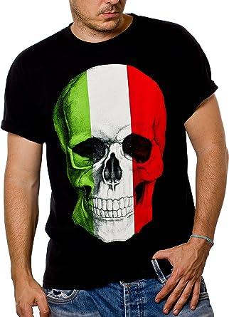 t-shirt tête de mort homme 1