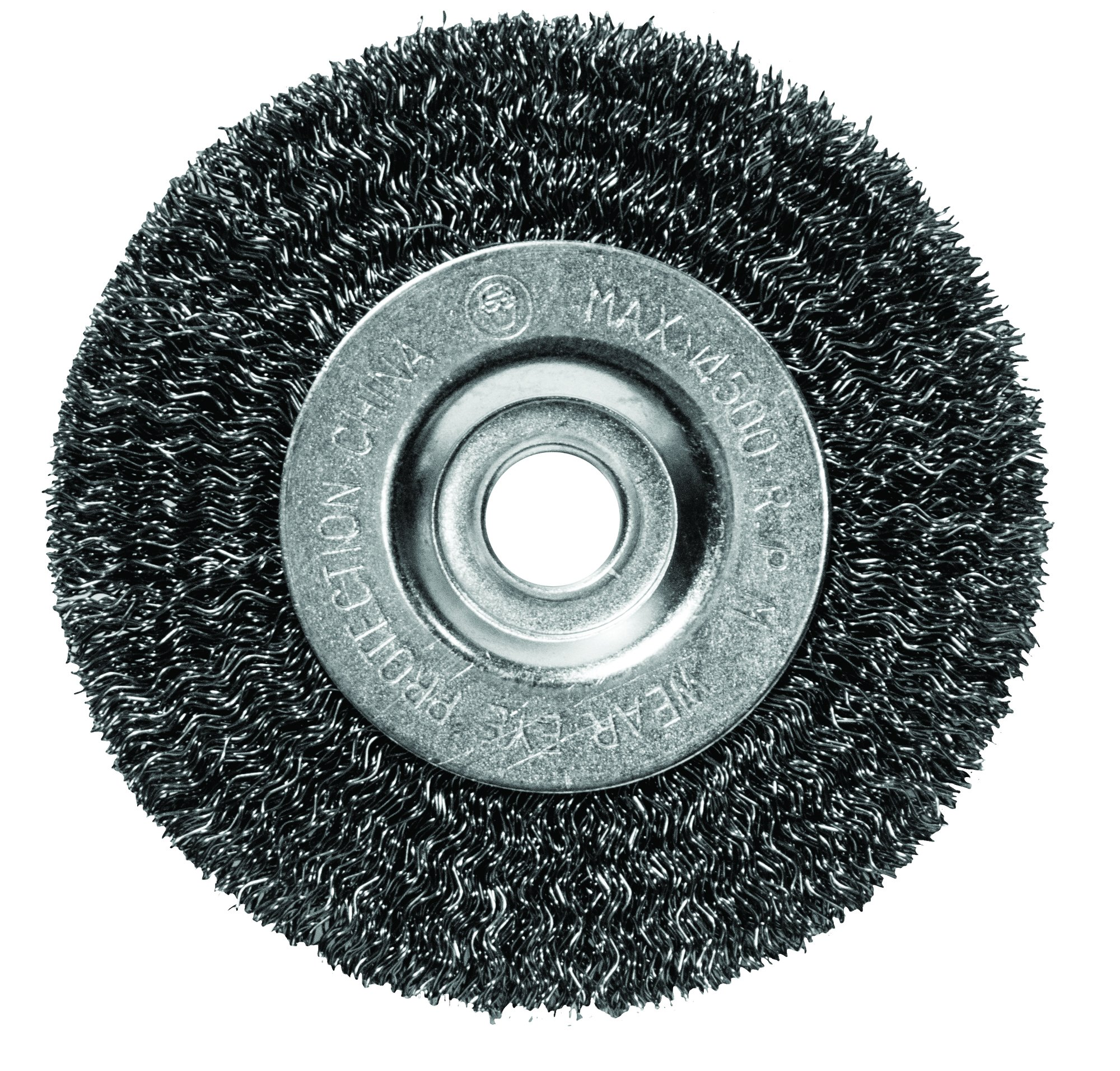 Century Drill and Tool 76853 Fine Bench Grinder Wire Wheel, 5-Inch