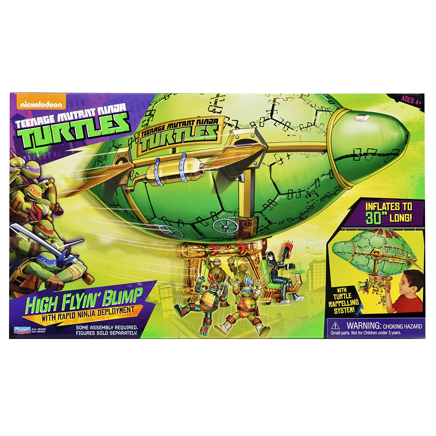 Teenage Mutant Ninja Turtles Turtle Blimp Vehicle: Amazon.es ...