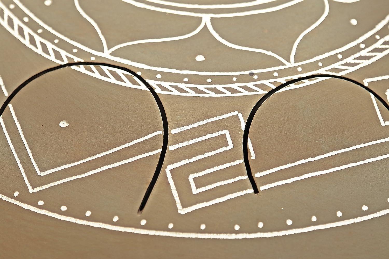 GUDA DRUM Freezbee Pan with Rope Decoration