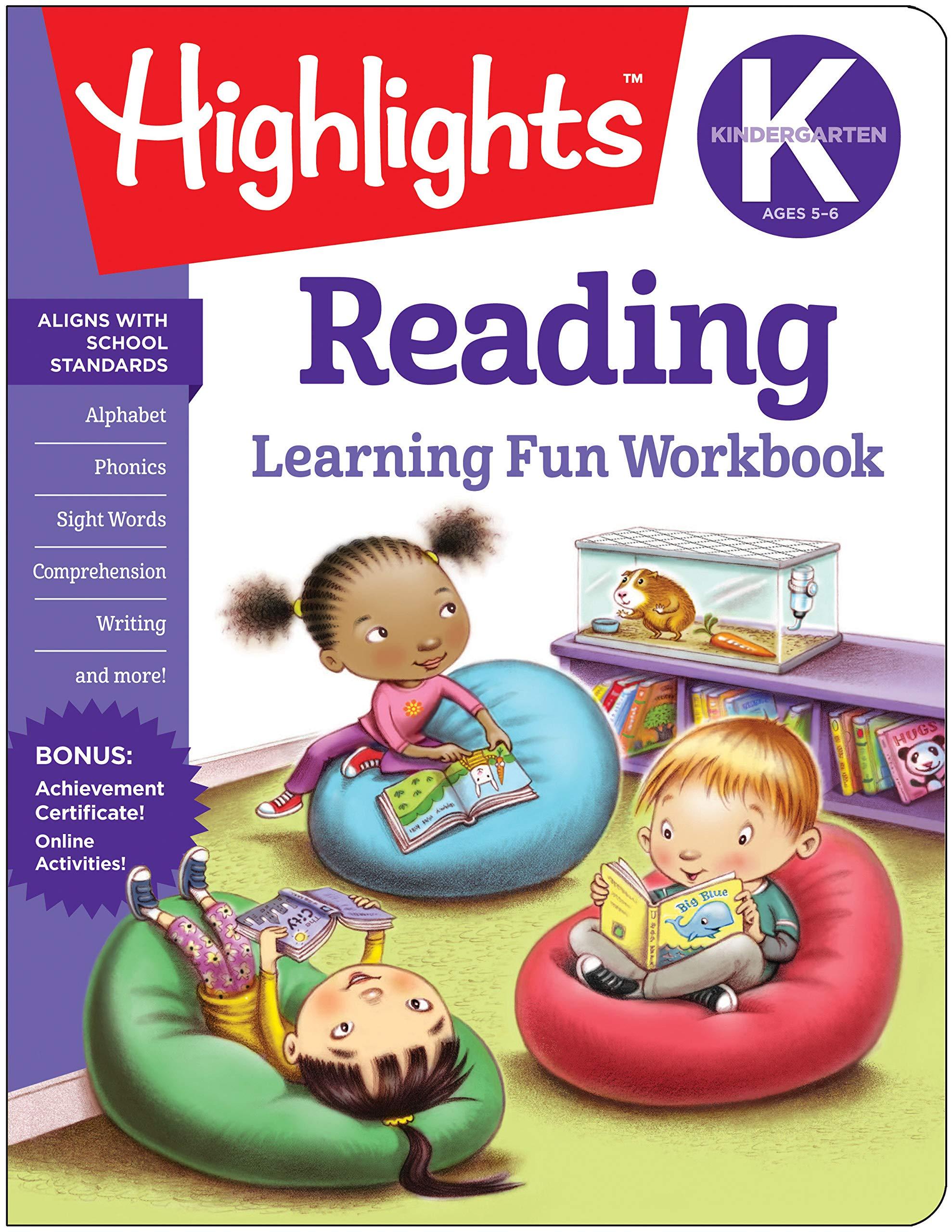 Kindergarten Reading (Highlights(TM) Learning Fun Workbooks ...