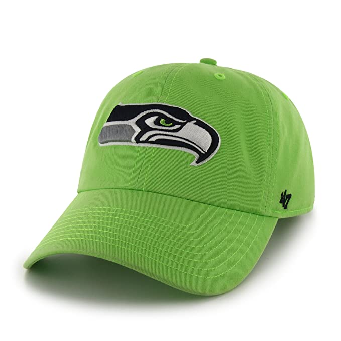 7ec4b5a4d Amazon.com   47 NFL Seattle Seahawks Clean Up Adjustable Hat