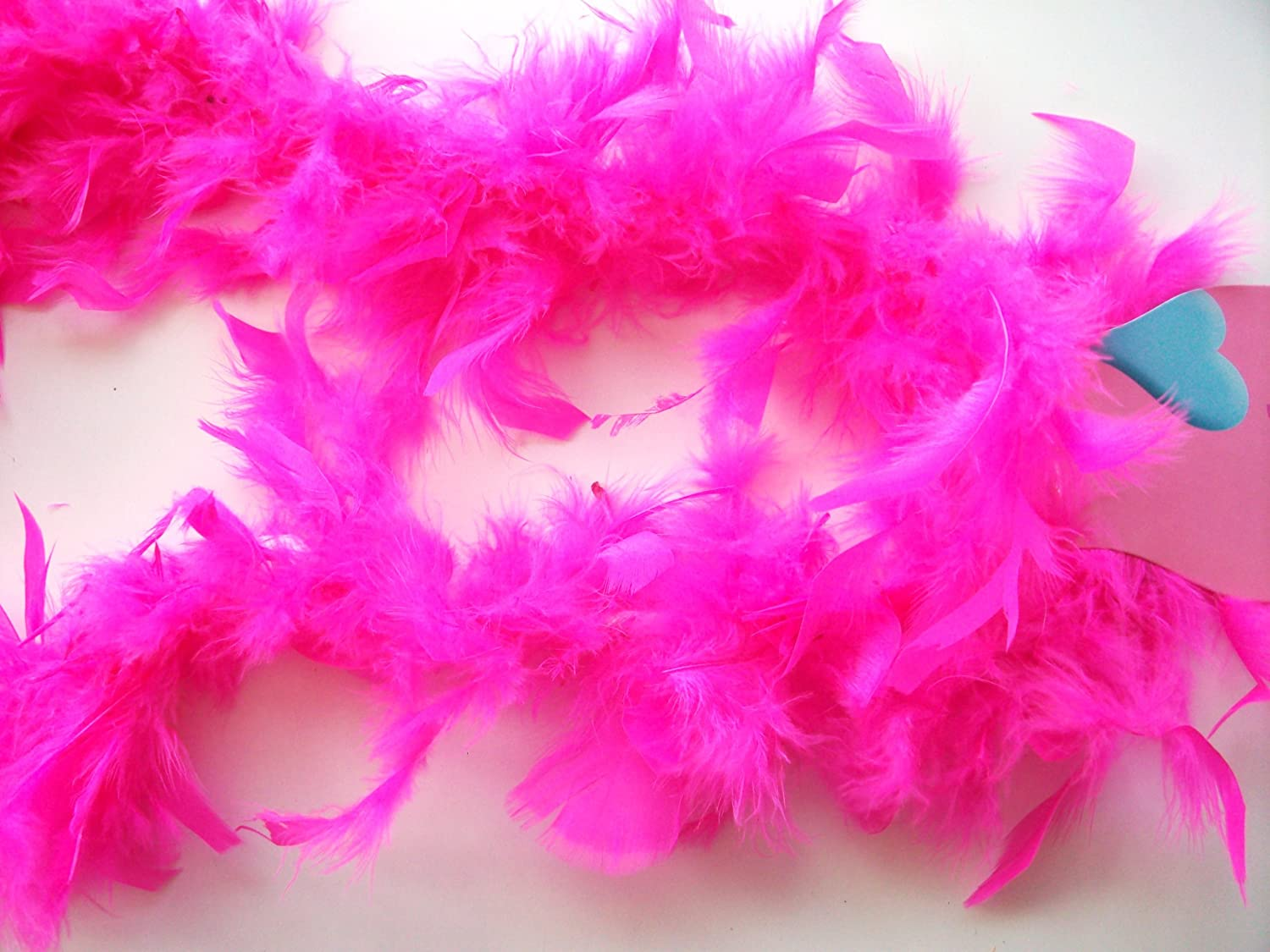 Fuschia feather boa - hot pink - just like yu - great for hen and stag nights