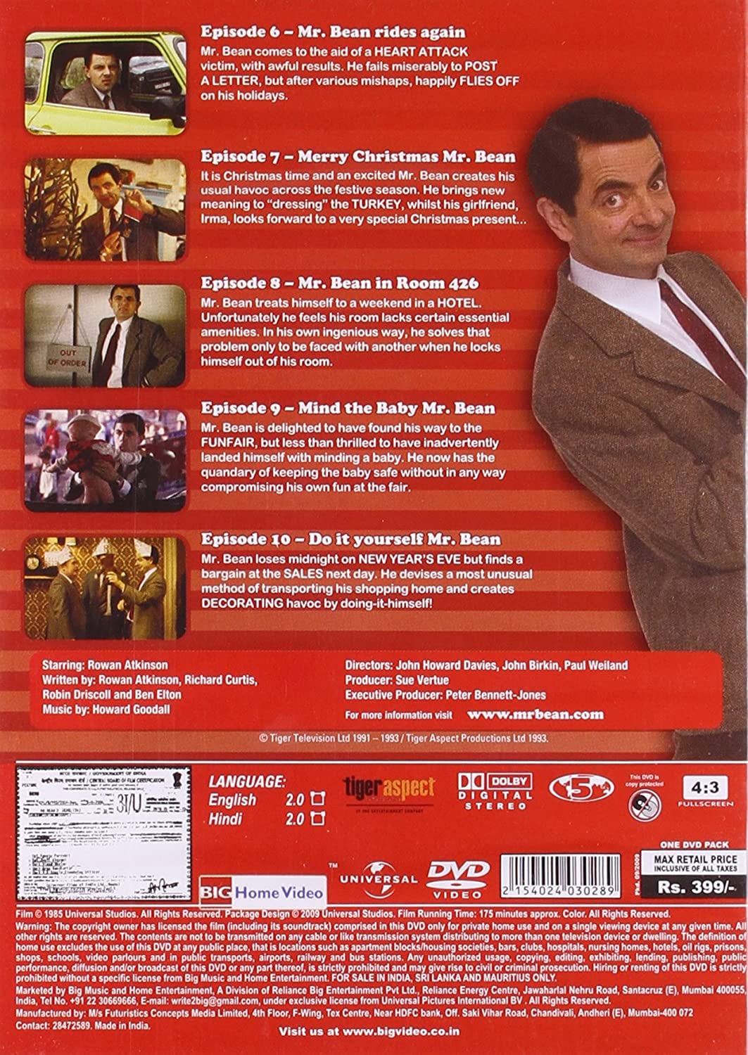 Amazon buy mr bean live action vol 2 dvd blu ray online at amazon buy mr bean live action vol 2 dvd blu ray online at best prices in india movies tv shows solutioingenieria Image collections