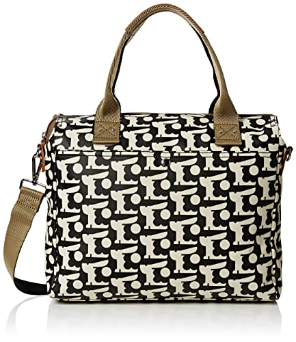 d66dc7704db Orla Kiely Womens Zip Msg Messenger Bag Black  Amazon.co.uk  Shoes ...